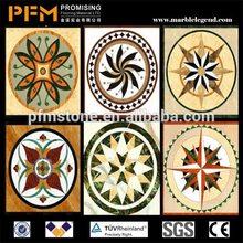 PFM Chinese popular luxury onsale meddalion mosaic sun patterns for hotel&villa project design