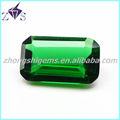 atraente de diamante de fantasia corte retângulo verde pedra pomes