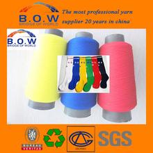knitting yarn football socks polyester yarn copy nylon yarn/container home