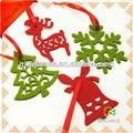 La navidad de fieltro ornamento / decoración estar colgado