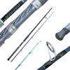 "USR006 5'5"" 2 Section, chinese fishing tackle china fishing gear ugly stick high carbon fishing rod ugly stick"