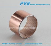 POM steel based bushing, oil groove bushing, engine parts steel polymer bushing