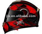 2014 DOT/ ECE full face dual visor casco scooters JX-FF005