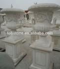 stone marble planter