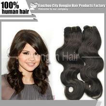 Top Quality 6A Beautiful Brazilian Human Hair Extension Black Color Body Wave 100% Wholesale Brazilian Hair Extension