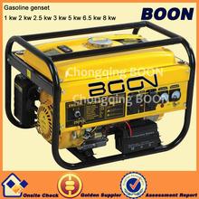 AC air cooled avr low oil warning 220v mini petrol generator