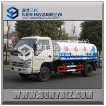 4X2 FOTON 8cbm- 10cbm forland140hp 2axles water tank truck