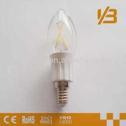 led bulb filament cristal ball light