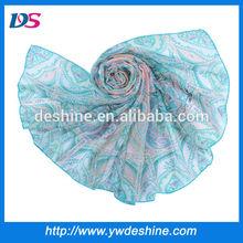 Best New style wholesale high quality female scarf pashmina WJ-429