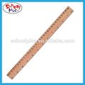 Popular 30cm régua de madeira/régua reta amplamente utilizados no escritório e na escola