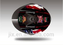 2014 New fashion style modular flip up dual visor moto helmets JX-A113