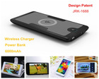 6000mAh wireless mobile phone battery charger universal wireless phone charger
