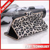 """Best selling leather leopard case for iphone 5 leopard case for iphone 5"""""""