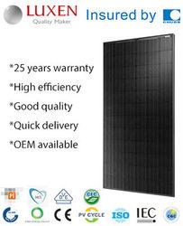 300W pv mono Solar Panel, all black solar module