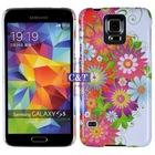 Hot sell beautiful ultra thin raindrop crystal hard case for samsung galaxy s5