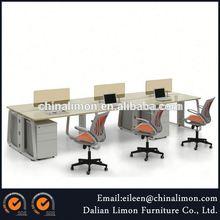 modern tasarım alüminyum çerçeve cam ofis masası istasyonları ofis mobilyaları ofis bölümü