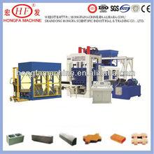 QT8-15C Type Block Making Machine hot sell in oman Hongfa brand Linyi city