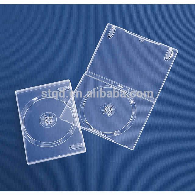 14mm DVD Case, Single, Super-Clear