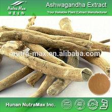 Hot Sale Ashwagandha Root Extract,Ashwagandha Root Extract Powder,Ashwagandha Root Extract Withanolides 1.5%~5%