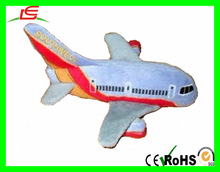 blue airliner plush toy plane stuffed