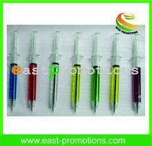 promotion pen/syring ballpen/injection shaped ballpen