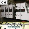 Corrugated cardboard water ink flexo high speed printing slotting machine