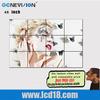 """46 """" indoor 3*4 led video led matrix panel for live broadcast in tv station"""