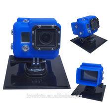 Silicone Cases For GoPro Hero 3 Sports Camera Silicon Case - green