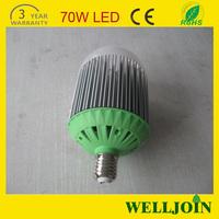 High Power 30W/40W/50W/60W/70W/ 80w led high bay bulb