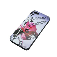 Custom tpu bumper case for iphone 5 5s (IMD or silk priting available)