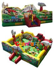 a Little Builder inflatable Jumper/kids jumping trampoline