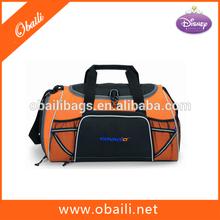 600D Polyester Promotional Barrel duffel bag/duffle bag