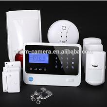 Home safe family protect wireless burglar alarm system GSM based SMS alert,battery low voltage alert