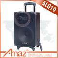 Modelo popular q10 10 polegadas falante portátil com controle remoto, bluetooth, rádio fm, usb pote