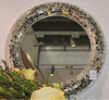 flower shape modern wall mirror for home decorative 041