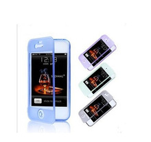 For iphone 5 5s Full body TPU Gel Case with built Screen protector