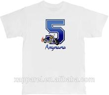 2014 White t shirt Motorcycle Personalized cheap Custom T-Shirt