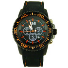 top branded for men 2013 hiphop 3atm stainless steel back watch