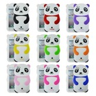 3d cute silicone panda phone case for samsung galaxy s4