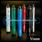 Authentic 2014 Newest original vision e cigarette ego battery 1600mah Vision Spinner II,variable voltage vision spinner 2