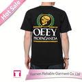 Black impresso camiseta whoelsael zebra print t-shirt para homens