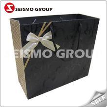 jewelry packing paper bags matt laminated art paper bag