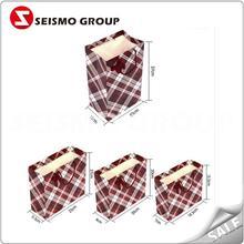 fancy shopping paper bag apparel paper packaging bags