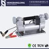 Heavy duty car air pump with double cylinder