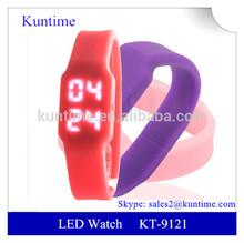 2014 LED barato reloj de pulsera led watch movement