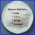 branco putty da parede interior de materiais de pintura