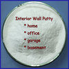 White Putty Interior Wall Paint Materials