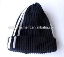Wholesale blue Custom-made fashion man hats