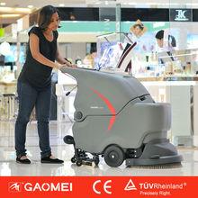 GM50B battery powered popular hand push mini carpet and floor cleaning machine