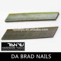 High quality Galvanized DA brad nails hard steel nails